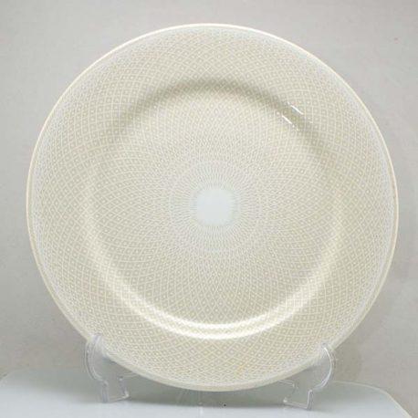 Taitú Lino Blanco plat bord 26,5 cm