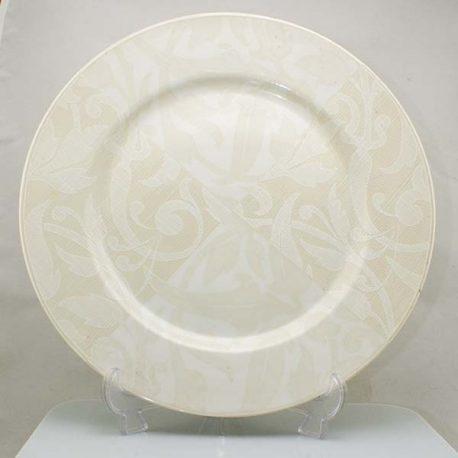 Taitú Lino Blanco Plat bord 32 cm