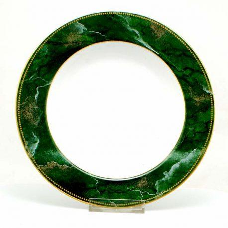 Taitú Malachite diep bord 21,5 cm