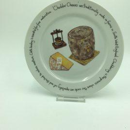 Kaasbordje 21 cm. Jersey Pottery