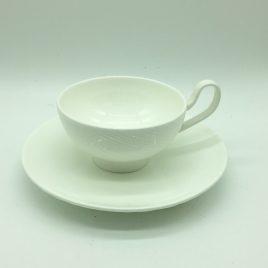 Wedgwood – Ethereal – thee kop en schotel
