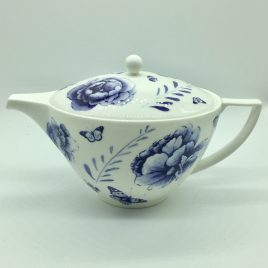Wedgwood – Jasper Conran – Blue Butterfly – theepot 1,2    L.