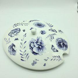 Wedgwood – Jasper Conran – ovale deksel 33 cm.