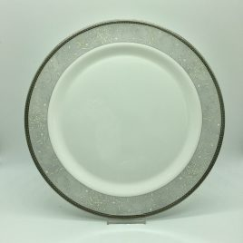 Wedgwood – Celestial Platinum onderbord 31 cm.