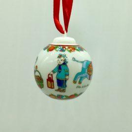 Hutschenreuther – kerstbal mini nr. 3