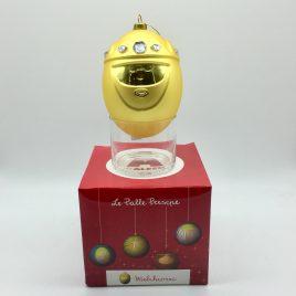Alessi – Melchiorre kerstbal goud – Marcello Jori