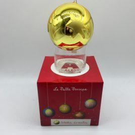 Alessi – -Stellacometa kerstbal goud – Marcello Jori
