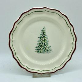 Gien – Filets Noel – bord 22,5 cm.