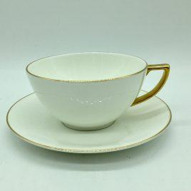 Wedgwood – thee kop en schotel – Jasper Conran Gold
