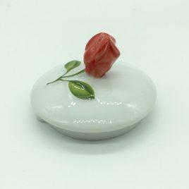 Rosenthal – Versace – deksel suikerpot – flower Fantasy