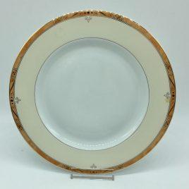 Philippe Deshoulieres – Scala zalm – ontbijt bord 22 cm.