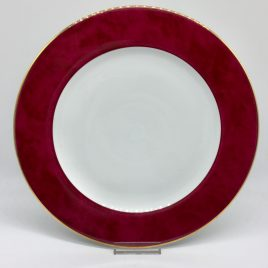 Philippe Deshoulieres – Scala rood – onderbord 30 cm.