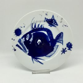 Gilizer – ontbijtbord 21 cm. – Ocean blau