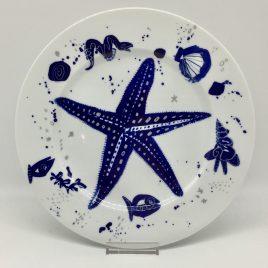 Gilizer – diner bord 27 cm. – Ocean blau