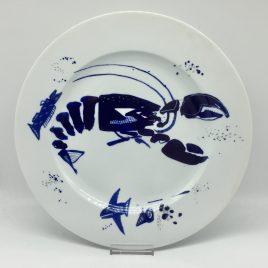 Gilizer – onderbord 32 cm. – Ocean blau