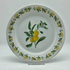 Yves Deshoulieres – ontbijt bord 21 cm. – Porcelaine de Sologne