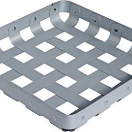 Alessi – Crisscross dienblad/ lectuur bak 51×51 cm. – aluminium