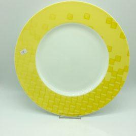 Hutschenreuther – onderbord 31 cm. geel – Lavina