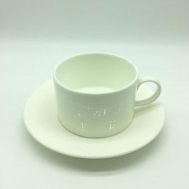 Wedgwood – thee kop en schotel – Ashlar