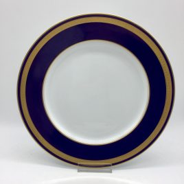 Rosenthal – dinerbord 26 cm. – Classic – Princess blauw/goud