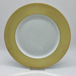 Rosenthal – dinerbord 26 cm. – Classic – Princess geel/goud
