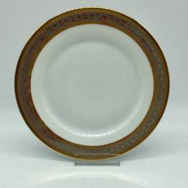 Rosenthal – ontbijt/dessertbord 19,5  cm. – Classic – Princess goud/platina