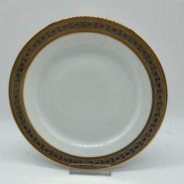 Rosenthal – ontbijt/dessertbord 21 cm. – Classic – Princess goud/platina