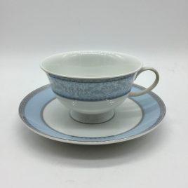 Rosenthal – thee kop en schotel – Classic – Princess licht blauw