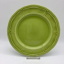 Gien – Pont aux Choux – ontbijt / dessertbord 23 cm. – olijf groen