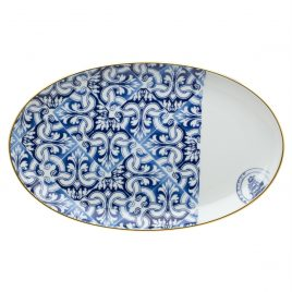 Vista Alegre – Medium Oval plate 33 cm – Transatlantica