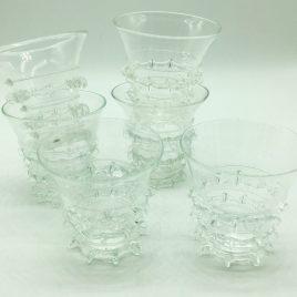 Historisch glas – replica 17e eeuw – wijnglaasje set van 6