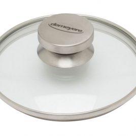 Demeyere – deksel 20 cm – glas/rvs