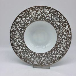 Raynaud – Cordoue – diep bord 21 cm. – platina