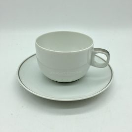 Rosenthal -Studio Line – Moon Platinum – thee/koffie kop en schotel