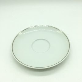 Rosenthal -Studio Line – Moon Platinum – thee  schotel 15,5 cm.
