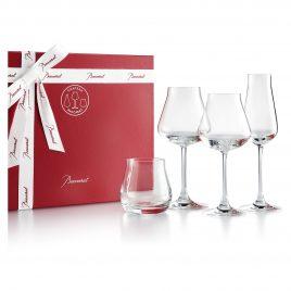 Baccarat – Chateau Baccarat – set van 4 kristallen glazen