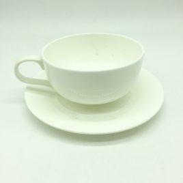 Alessi – thee/koffie kop en schotel – Ettore Sottsass