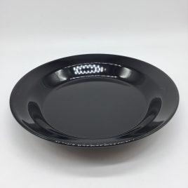 Authentics – Pui – bord diep 23 cm. – zwart