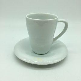 Alessi – koffie mok en schotel – Guido Venturini