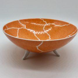 Rosenthal – Studio Line – pasta/ soep bowl oranje 17,5 cm. – Davide Pizzigoni