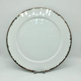 Rosenthal – onderbord 33 cm – Platinum Dust