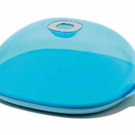 Alessi – Kaasplank / taart doos – Iglu blauw – Miriam Mirri