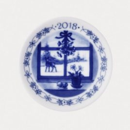 Royal Copenhagen – plaquette 8 cm. – 2018