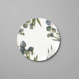 Dibbern – Eukalyptus – Bread/cake Plate 21 cm.
