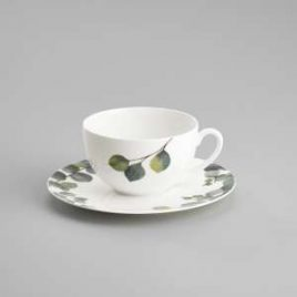 Dibbern – Eukalyptus – Tea/Coffee cup and saucer