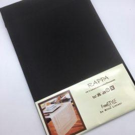 De Witte Lietaer – tafelloper 50 x 150 – Rappa zwart