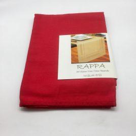 De Witte Lietaer – tafelloper 50 x 150 – Rappa rood