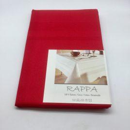 De Witte Lietaer – 4 servetten 50 x 50 cm. – Rappa rood