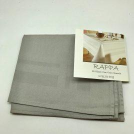 De Witte Lietaer – 4 servetten 50 x 50 cm – grijs