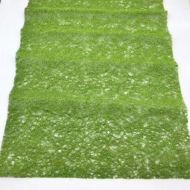 Chilewich – placemat 35 x 49 cm. – mosgroen set van 2